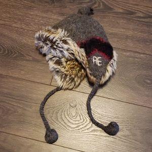 AE wool alpaca trapper hat